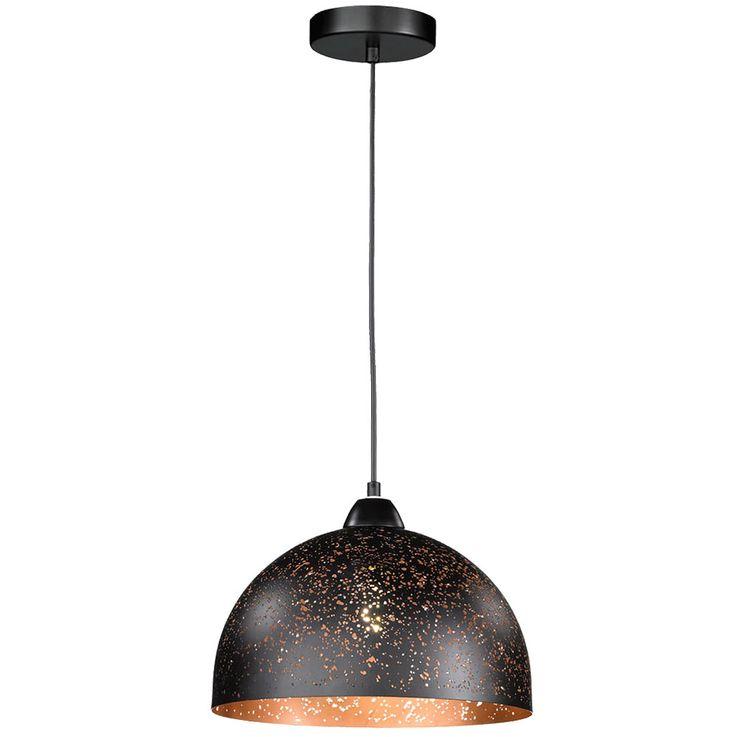 Decken Hänge Lampe Wohn Zimmer Beleuchtung Pendel Strahler Leuchte antik schwarz WOFI 6207.01.6100 – Bild 1