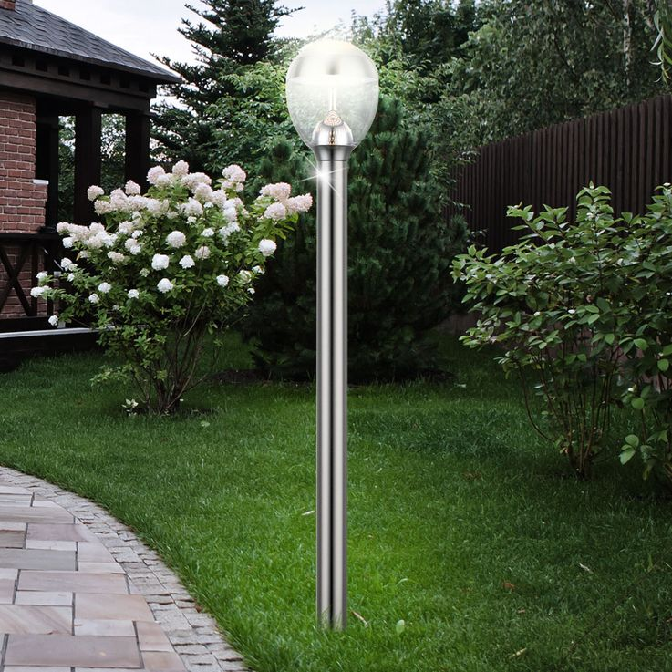 Set of 2 LED floor lamps with and without motion detector – Bild 6