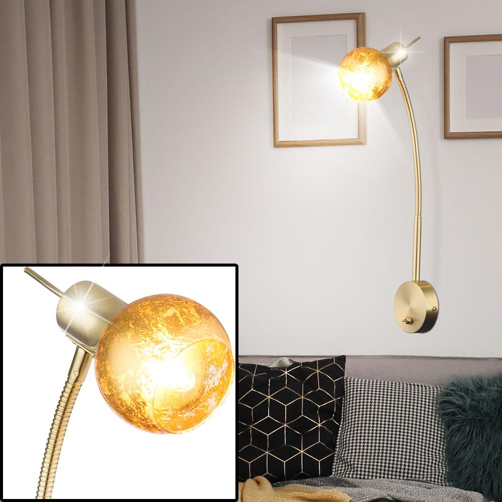 GOLD Design Messing Decken Pendel Hänge Lampe Tisch Wand Steh Leuchte Strahler