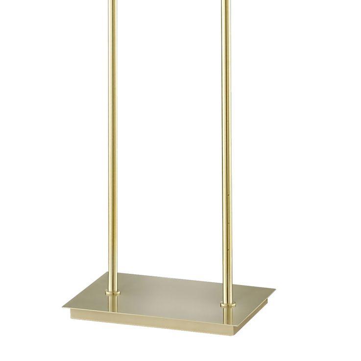 Design Stand Lamp Living Room Textile Ceiling Floodlight Lighting Brass Stand Luminaire Honsel 46122 – Bild 5