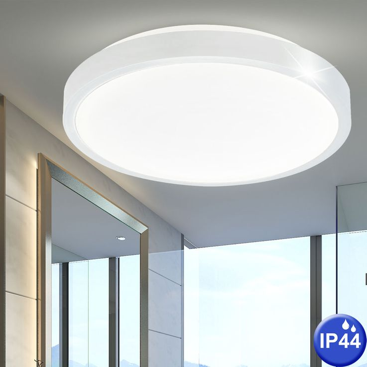 Ceiling lamp luminaire lighting damp room white round IP44 bath room light  Nordlux 441131 – Bild 2