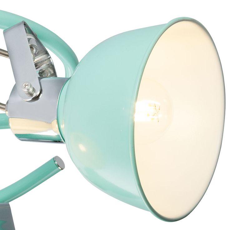 Projecteur de plafond Lampe de travail Rondell Mint Green Luminaire Projecteur de bureau réglable  Globo 54641-3 – Bild 5