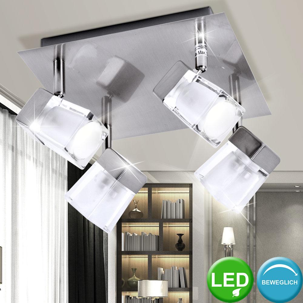 RGB LED Decken Leuchte Arbeits Zimmer Lampe Würfel Büro Strahler Farbwechsler