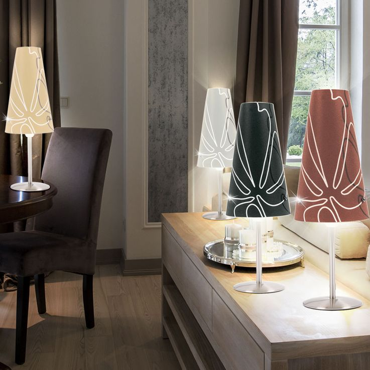 Lampe de table en différentes couleurs, hauteur 36 cm ISI – Bild 2
