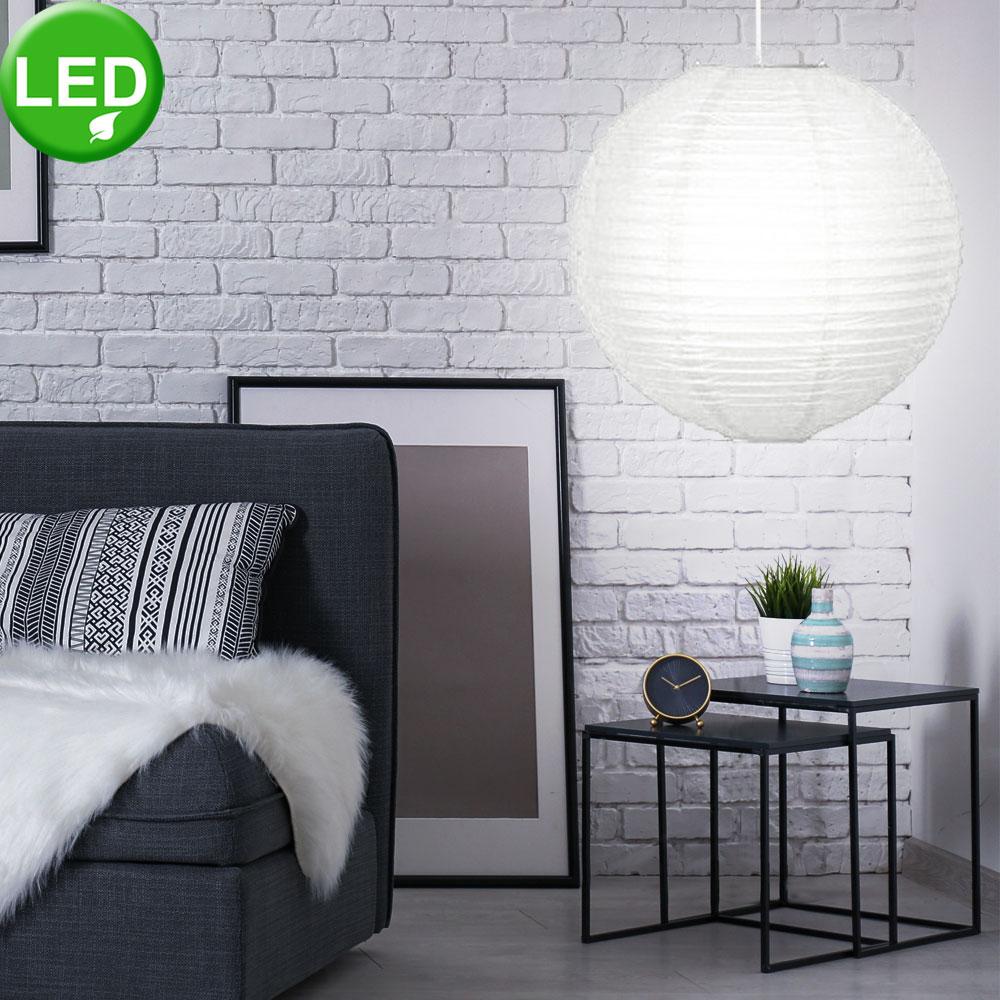 Led Hange Lampe Pendel Flur Decken Leuchte Samsung Chip Papier