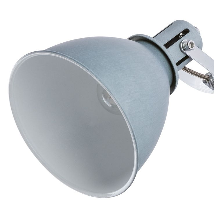 Spot Applique Portable Living Spot de lecture Spot de travail Flexo Light Grey  Globo 54646-1 – Bild 6