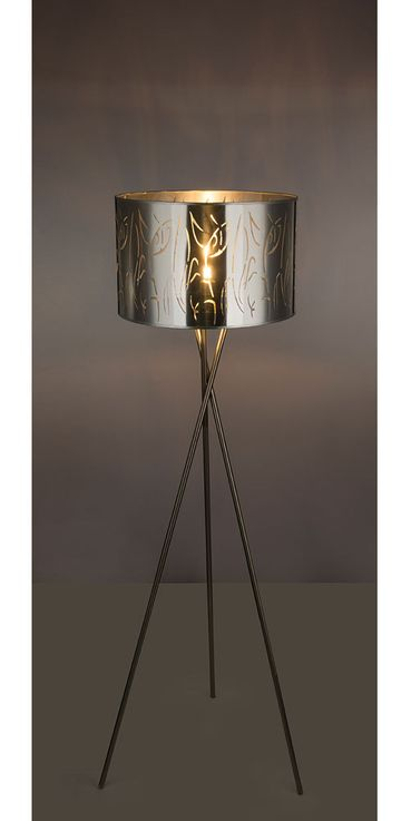 Luxury Stand Lamp Tripod Sleep Room Ceiling Floodlight Decor Pattern Stand Lamp  Globo 15360S1 – Bild 5