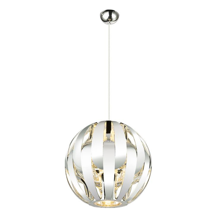 Luxury Pendulum Hanging Lamp Sleep Guest Room Ceiling Spotlight Chrome Ball  Globo 15021C – Bild 1