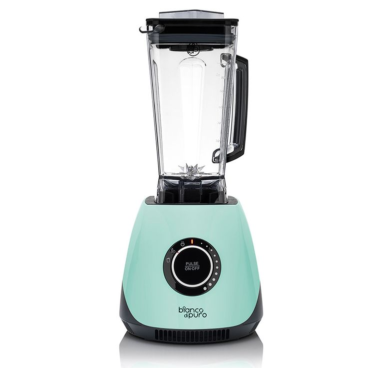 1400W Stand Mixer Turquoise 2L Container Stainless Steel Blades Smoothies Fruit Vegetables – Bild 1