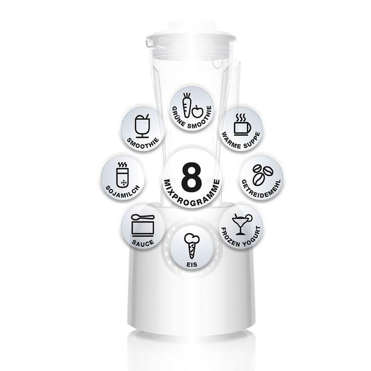 Hochleistungsmixer, weiss, PURO S bianco di puro – Bild 3