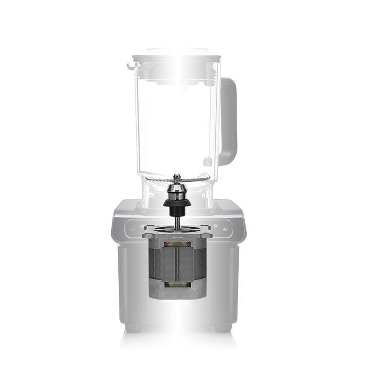 1,7L Stand Mixer Touch-Bedienfeld 6 Prog. 1200W Frucht-Smoothie Suppen schwarz – Bild 2
