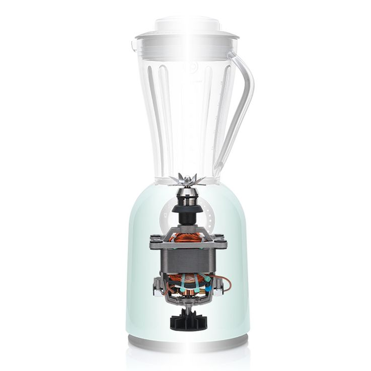 1L Stand Mixer Smoothies Proteinshakes metallic-grün To-GO Trink-Becher inkl. Tasche – Bild 2