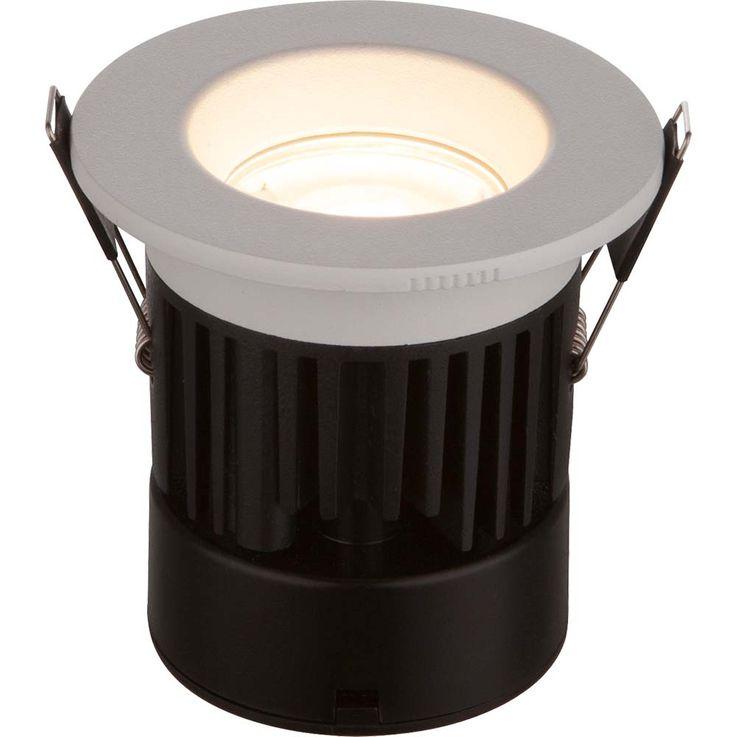 LED Einbaustrahler INAKIR, weiß, EEK: A, starr, rund – Bild 4