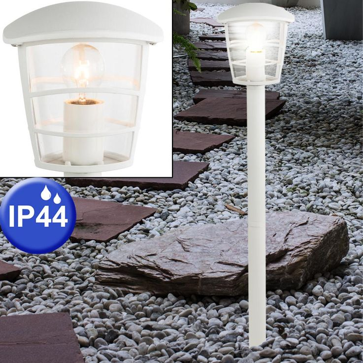 Outdoor light ALU Lantern Floor lamp Floor Spotlight Garden Lighting Terrace Veranda  Globo 31832 – Bild 3