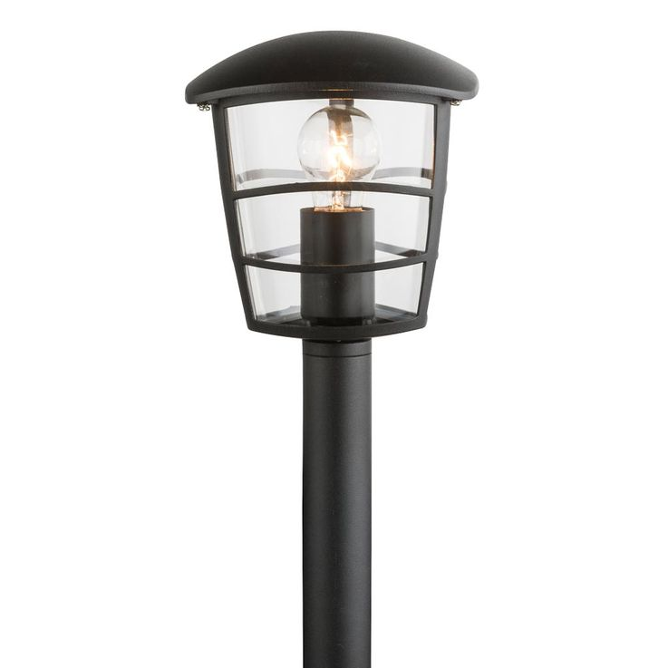 Outdoor Pedestal Lighting Stand Lamp ALU Stand Terrassen Park Lamp black  Globo 31838 – Bild 4