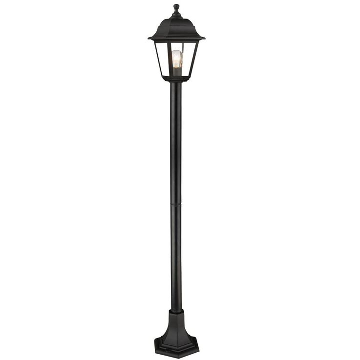 Outdoor stand lamp garden way outdoor lighting terraces pedestal lantern lamp black  Globo 31888 – Bild 1