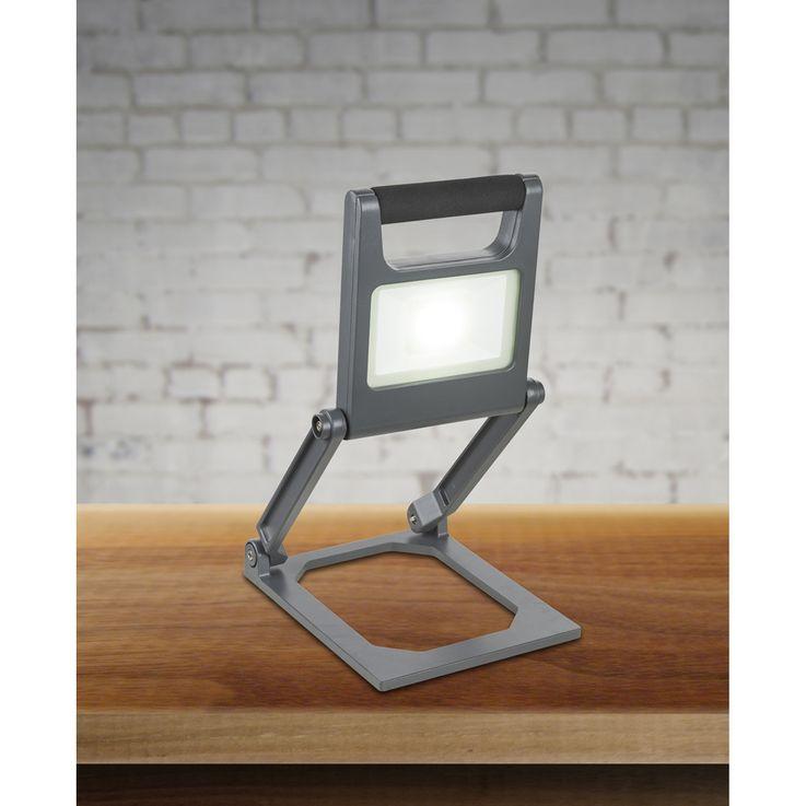 LED Außenleuchte TUNGA 2 Stufen: 100% 600lm zusammenklappbar 1x LED á 10W inkl. – Bild 2