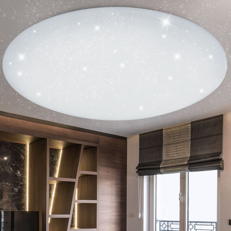 LED Ceiling Lamp CCT Remote Living Children Room Stars Effect Lamp Dimmable  Globo 48383 – Bild 3
