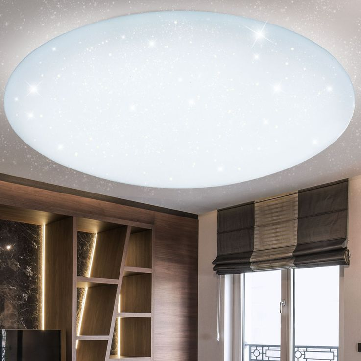 LED Ceiling Lamp CCT Remote Living Children Room Stars Effect Lamp Dimmable  Globo 48383 – Bild 7
