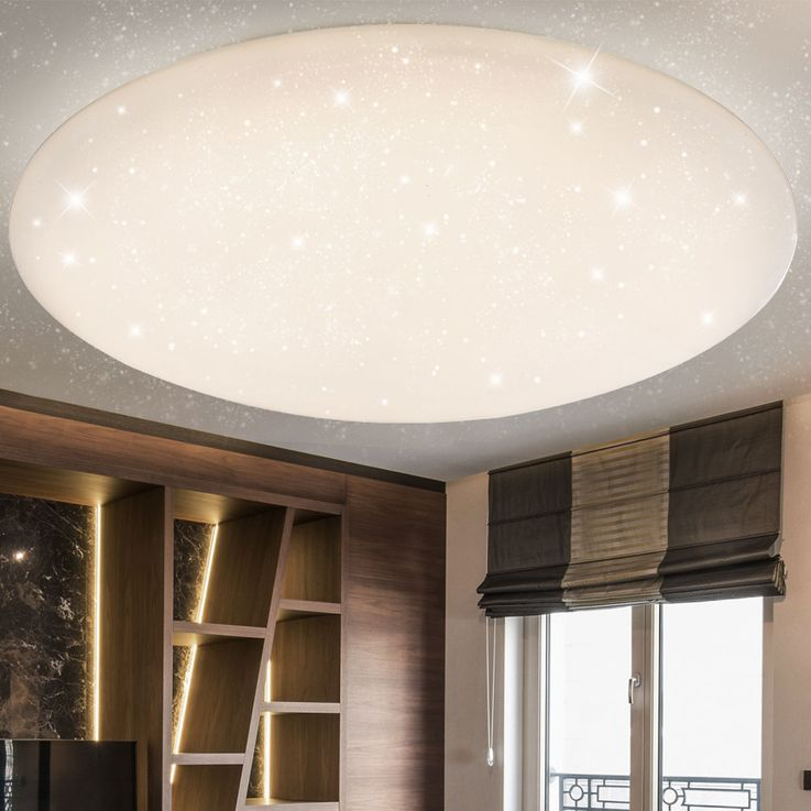 LED Ceiling Lamp CCT Remote Living Children Room Stars Effect Lamp Dimmable  Globo 48383 – Bild 5