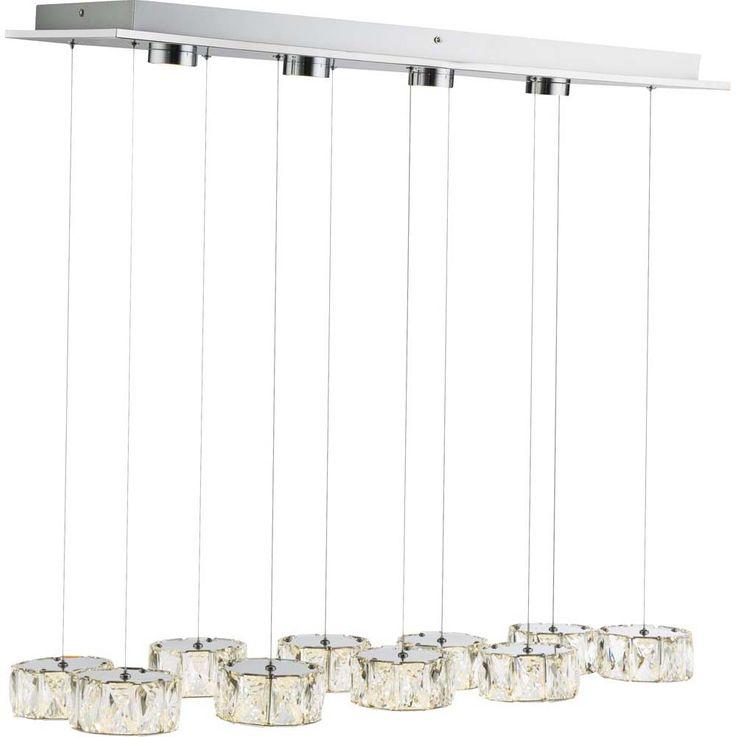 LED Hängeleuchte AMUR, 96 Watt, 4 LED Spots in Deckenplatte – Bild 8