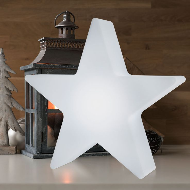 RGB LED Star Table Light Outdoor Area X-MAS Christmas Lamp REMOTE CONTROL  Globo 84085 – Bild 3