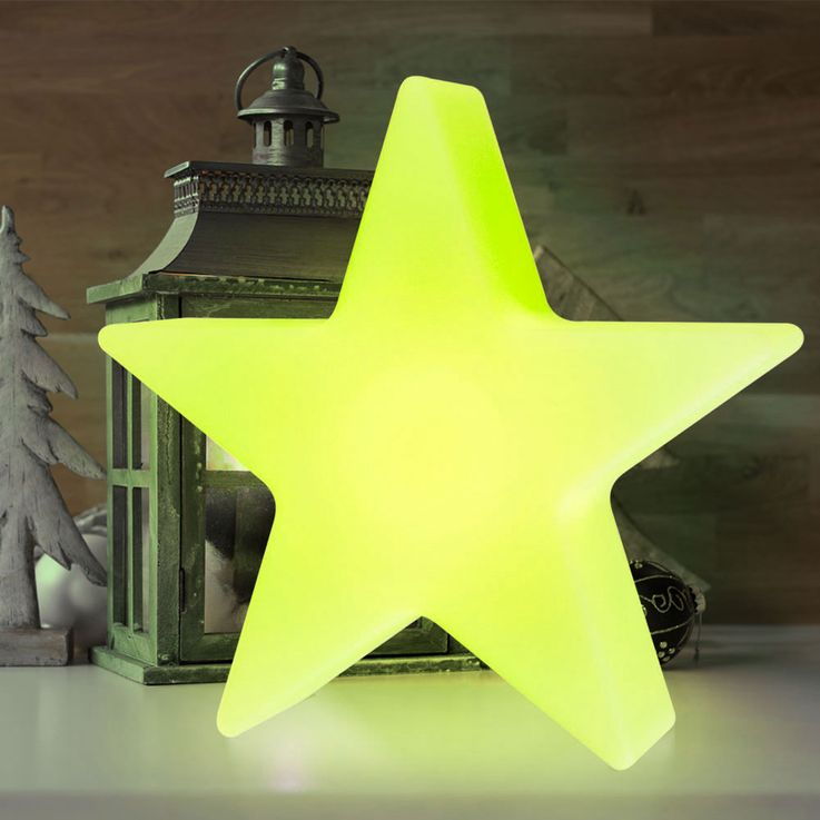 RGB LED Star Table Light Outdoor Area X-MAS Christmas Lamp REMOTE CONTROL  Globo 84085 – Bild 7