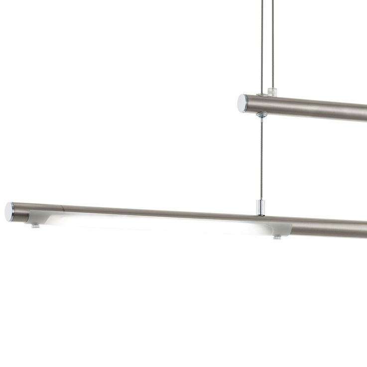 Lampe à suspension LED design, éclairage de salon réglable en hauteur, suspension ALU au plafond  Eglo 97062 – Bild 5