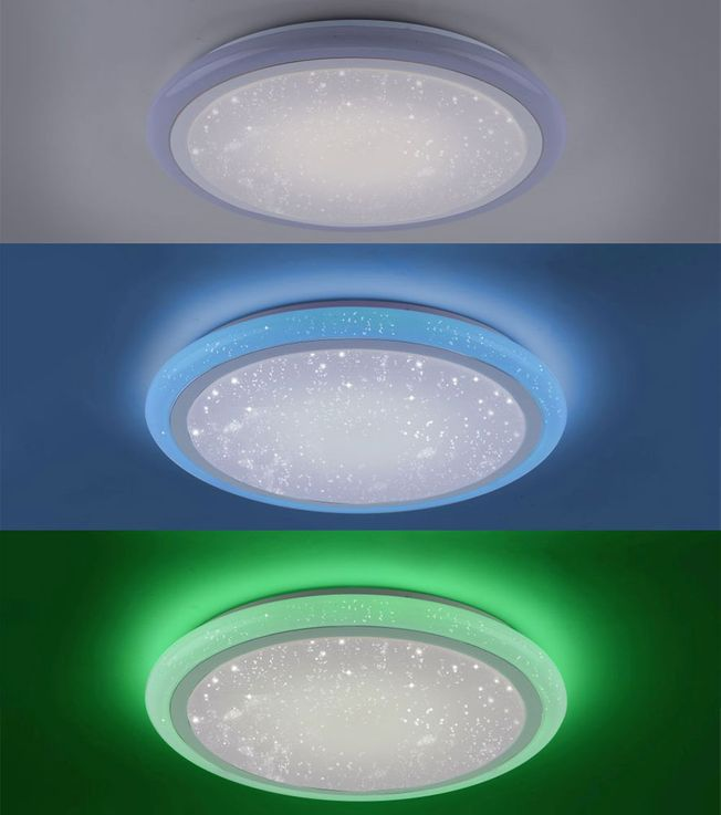 RGB LED ceiling light stars sky effect CCT circuit remote control  Paul  Neuhaus 15230-16 – Bild 5