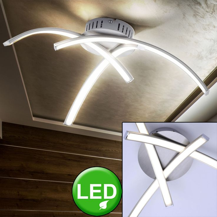 LED ceiling lamp residential sleep room lighting spotlight light bent  lights  Direct 15341-55 – Bild 2