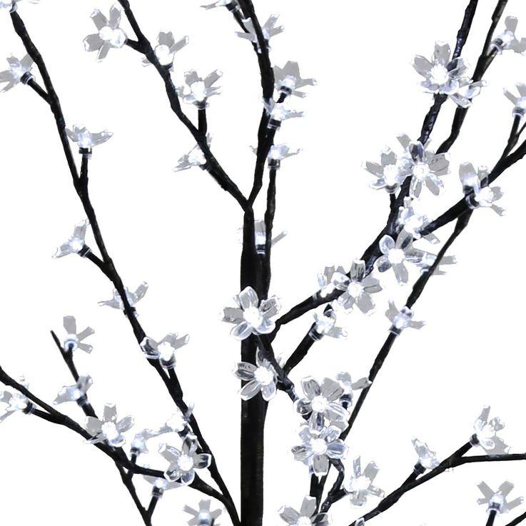 200x LED Deko Baum Kirsch Blüten Terrassen Außen Stand Beleuchtung Garten Steh Lampe Harms 507194 – Bild 3
