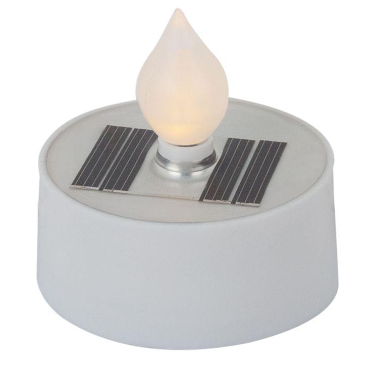 3 x LED bougies chauffe-plats solaires effet de feu décoration extérieure lampes de jardin patio  Globo 33048-3 – Bild 6