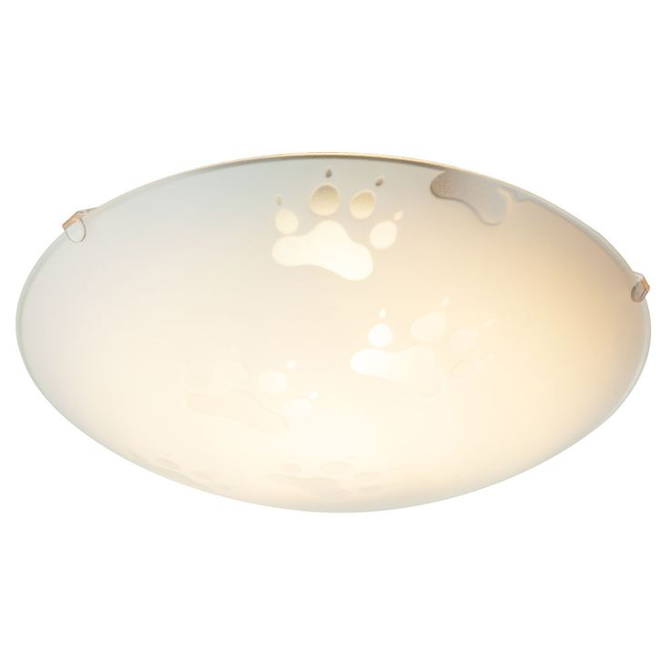 Paws design ceiling lamp children room lighting animal paws glass lamp round  Globo 4090 – Bild 6