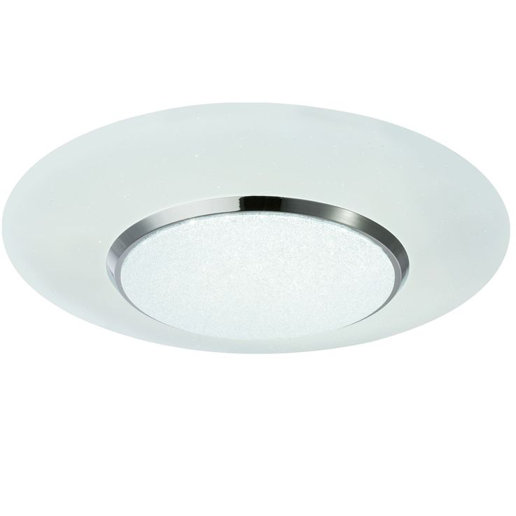 LED ceiling lamp, star effect, remote control, CANDIDA – Bild 1