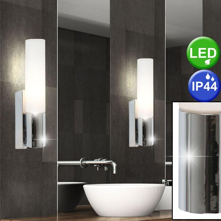 LED wall spotlight bath room lamp mirror lighting glass lamp chrome  Globo 41521L – Bild 3