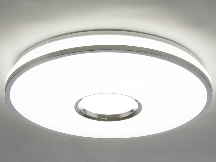 LED Ceiling Lamp Living Room Crystal Stars Effect Light Dimmer REMOTE CONTROL  Globo 48382-60 – Bild 6