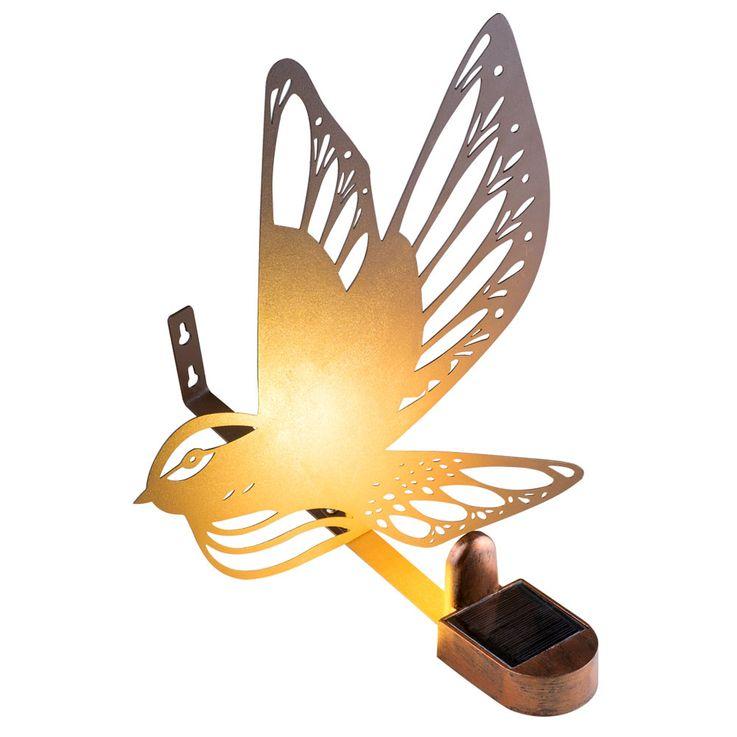 Applique solaire LED Bird Design Decks Luminaires de chemin d'accès Figure Rust Colors  Globo 33905 – Bild 4