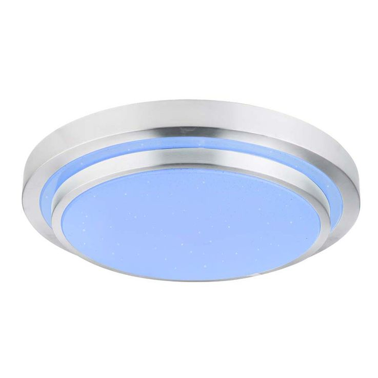 RGB LED ceiling light living room ALU stars sky effect lamp REMOTE CONTROL 41738  -60RGB – Bild 8