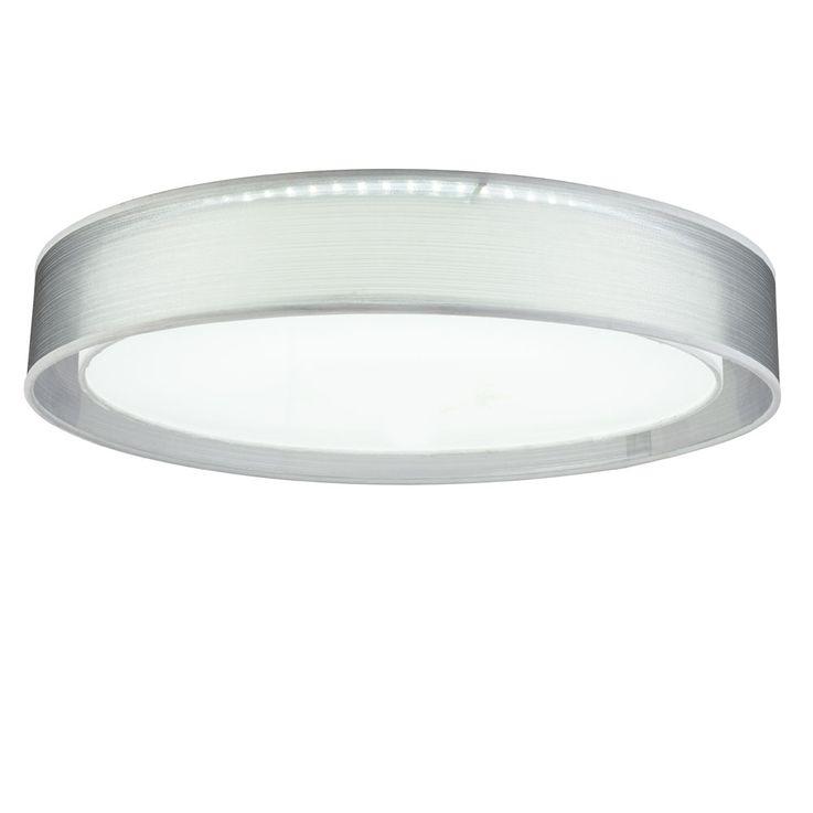 LED Design Ceiling Lamp Textile Spotlight Living Room CCT Dimmer Light REMOTE CONTROL  Globo 15190D4 – Bild 1