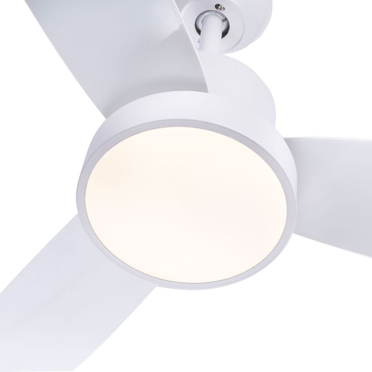 LED ceiling fan living room fan white 3 steps remote control timer lamp dimmable  Globo 03600 – Bild 4