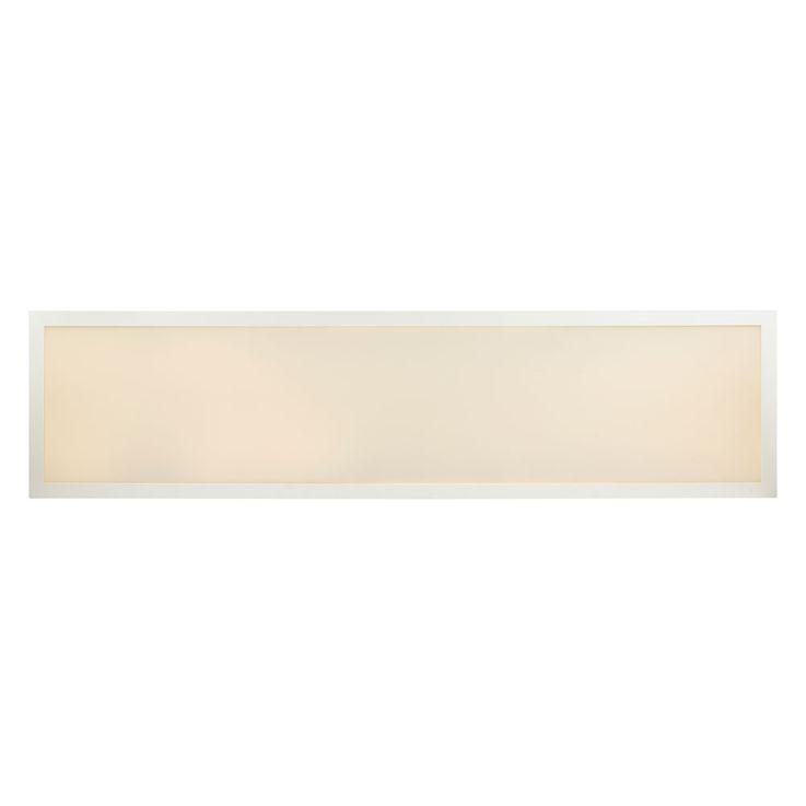 Plafond LED A Structure Panneau Salon Éclairage de salle de séjour Lampe ALU Blanc Longueur 120 cm  Globo 41604D5 – Bild 11