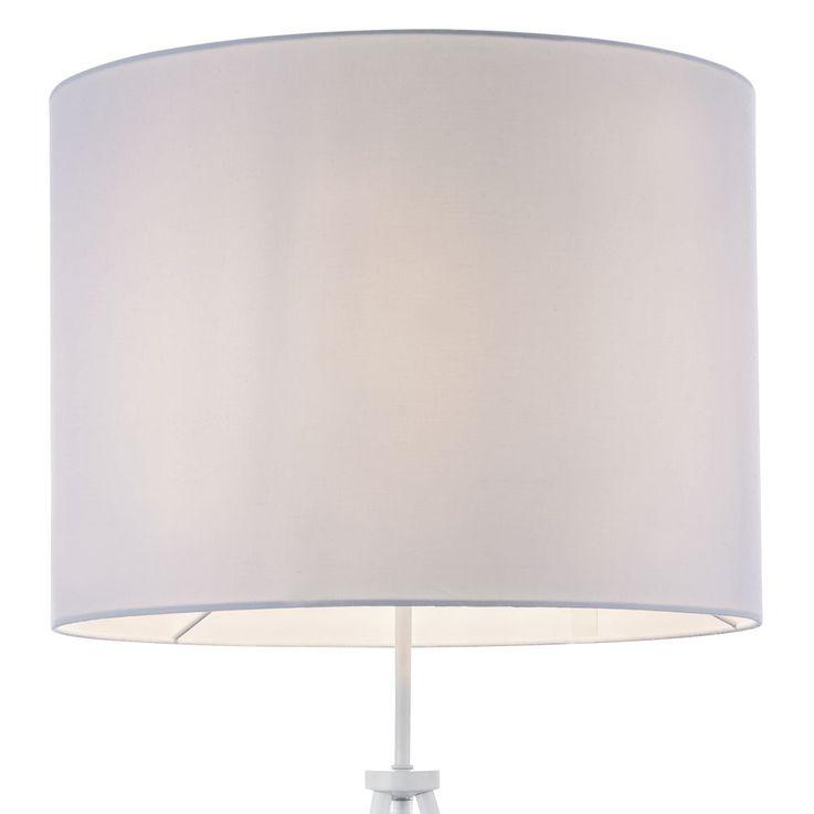 Stand Lamp Sleep Guest Room Reading Tripod Luminaire Tripod Fabric Lighting  Globo 58396W – Bild 5