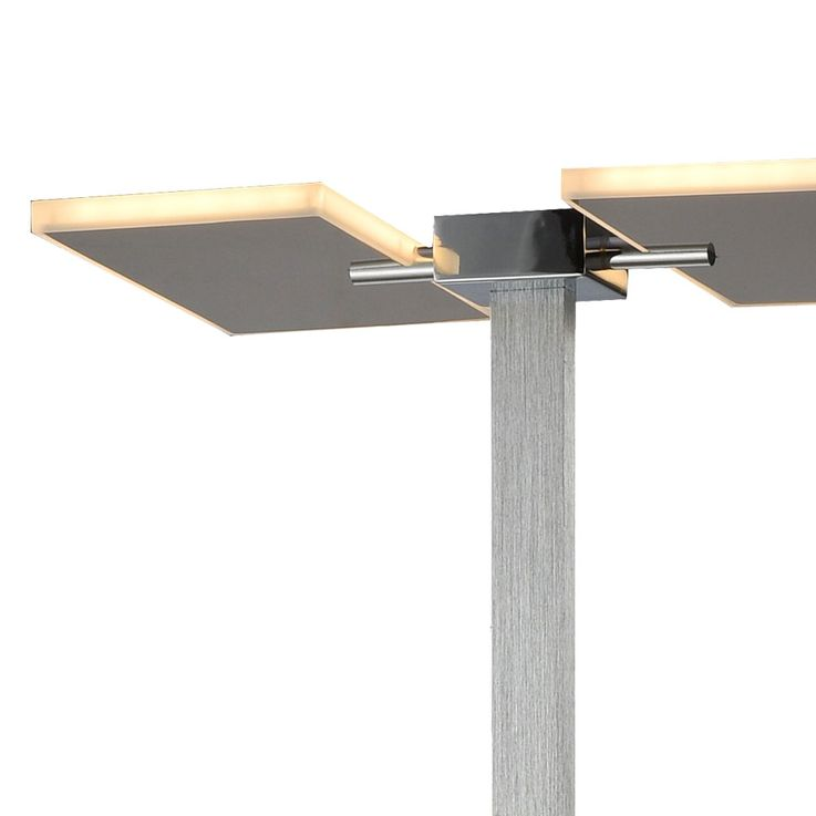 RGB LED ceiling floodlight chrome stand lamp swiveling remote control ALU lamp dimmable  Esto 726005 – Bild 3