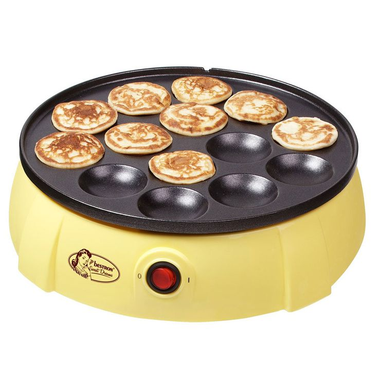 Backplatte für Pfannkuchen und Poffertjes – Bild 1