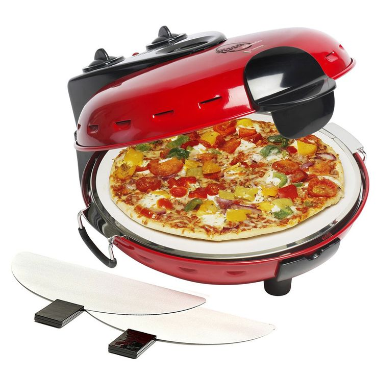 Stone Table Baking Oven Pizza Maker Household Automatic Machine Upper Under Heat Temperature  Bestron DLD9070 – Bild 7