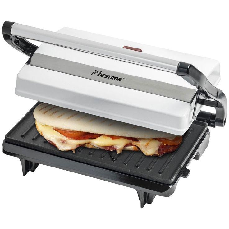 Tisch-Kontakt-Grill Sandwich-Maker mit zwei Wärme-Flächen – Bild 6