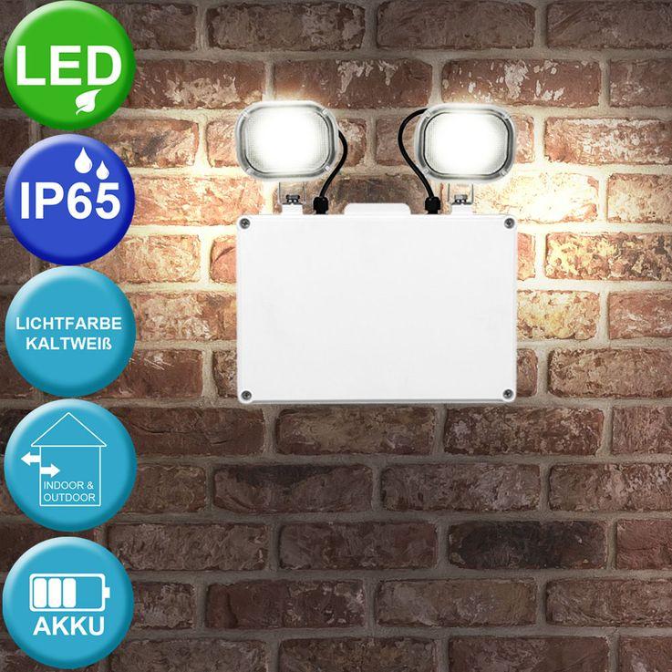 LED 6W Notfall-Wandleuchte,  3 Std. Akkubetrieb VT-6170 – Bild 2