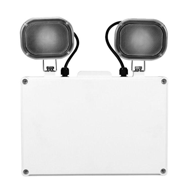 LED emergency wall light spot spotlight escape way battery lighting outdoor lamp V  -TAC 8098 – Bild 1