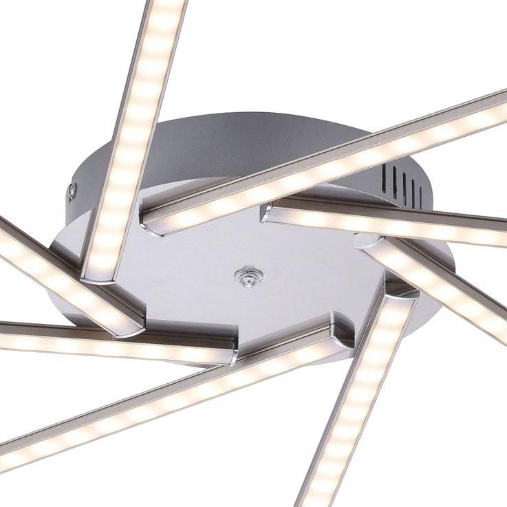 RGB LED Decken Lampe Sonnen Design Fernbedienung Wohn Zimmer Leuchte dimmbar LeuchtenDirekt 11351-55 – Bild 12