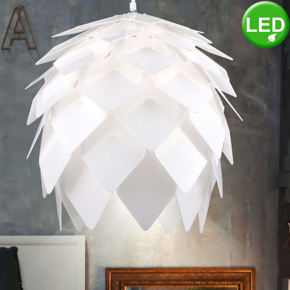 Led Ceiling Hanging Lamp In Pin Design D 40cm Scaly Bild 2